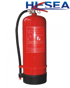 AFFF 3 percent foam fire extinguisher