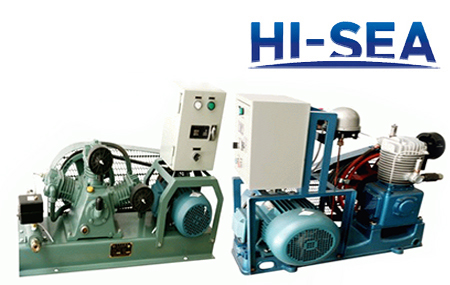 Marine Air-cooled Series and Water-cooled Series Air Compressor