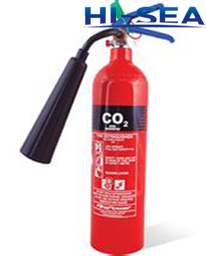 Alloy steel CO2 fire extinguisher