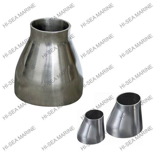 Alloy steel stainless steel mirror surface pipe reducer