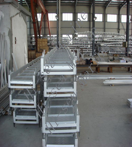 Fully-fixed Type Marine Aluminum Alloy Wharf Ladder