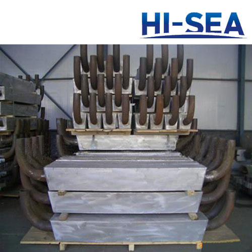 Aluminum Anode for Harbor and Marine Engineering Facilities