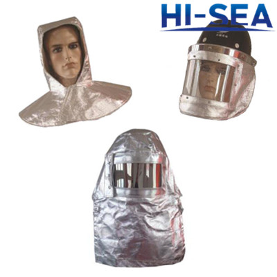 Aluminum Foil Fire Escape Hood