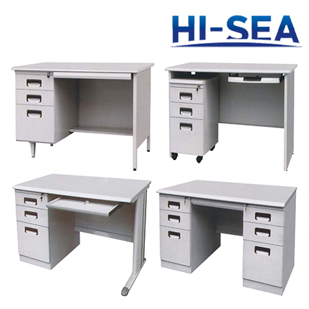 Aluminum Marine Office Desk