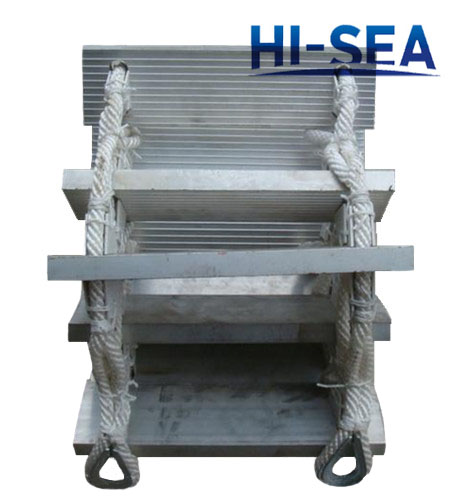 Aluminum Mount Ship Rope Ladder