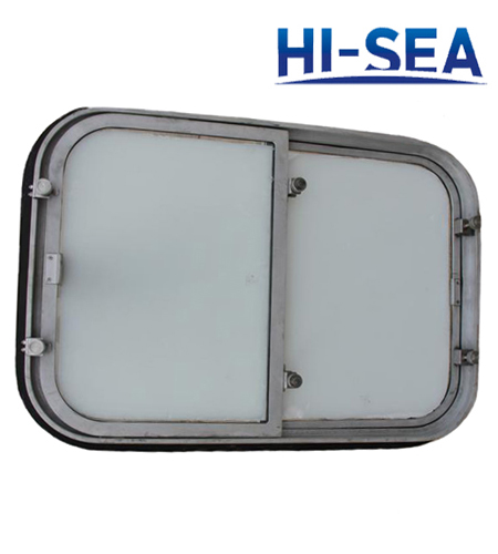 Aluminum Single Sliding Window for Ship
