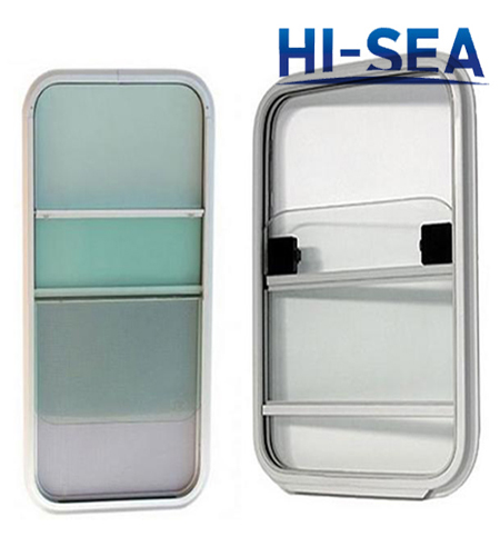 Aluminum Vertical Sliding Window for Ship