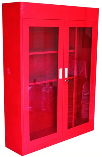 Frp Firefighting Cabinet With Glass Door Supplier China