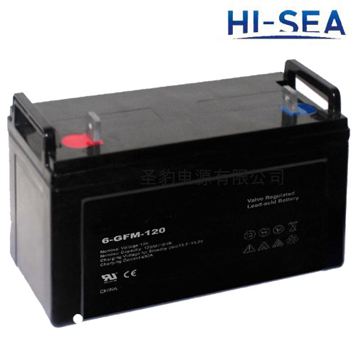 Battery for Sightseeing boat