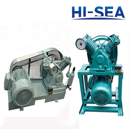 Belt Type Marine Medium Pressure Air Cooling Air Compressor H-6S H-8S