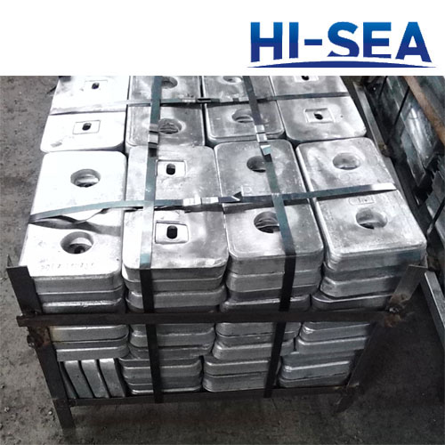 Bolt Type Aluminum Alloy Anode