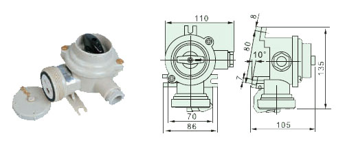 Marine Nylon Socket with Switch