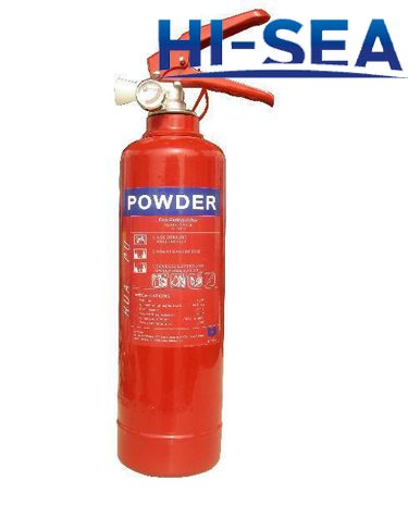 CE Approved Dry Powder Fire Extinguisher
