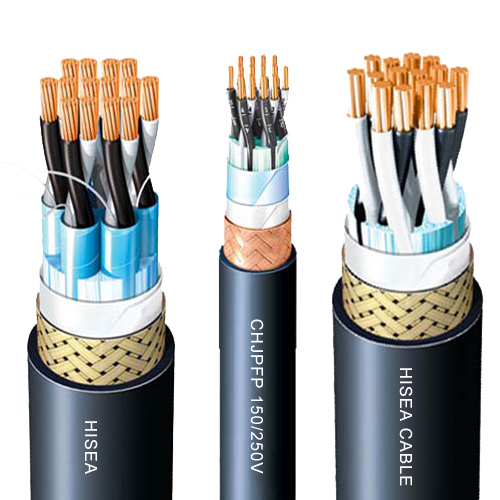 Fire-retardant Screened  Marine Communication Cables 250V