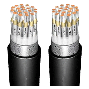 Fire-resistant marine  instrumentation and communication cable