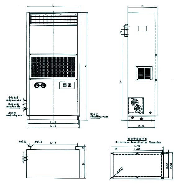 Low Noise Floor Mounted Air Conditioner