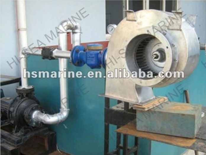 Water Seal For Centrifugal Blowers : Csl water drive marine centrifugal fan supplier china