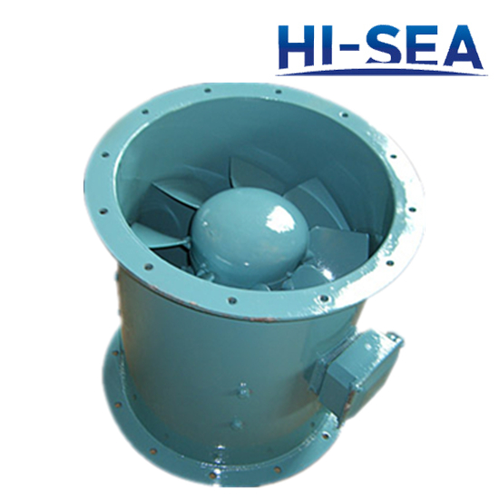 CZF Marine Exhaust Blower-Axial Fan