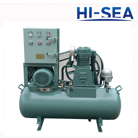 CZF Series Marine Low Pressure Air Cooling Piston Type Air Compressor