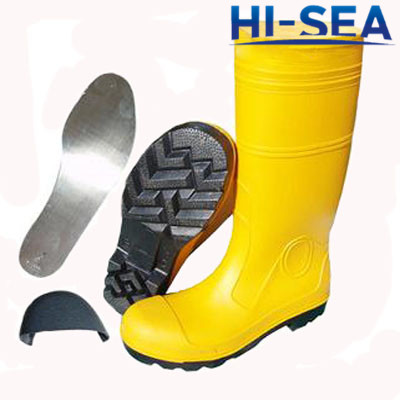 Chemical Protective PVC Fire Safety Boots