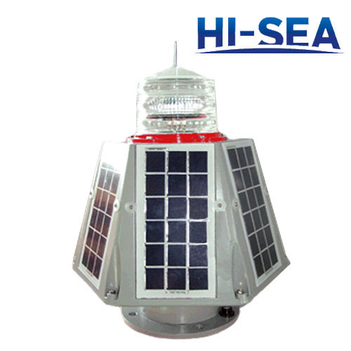 Cold Light Source Solar Integrated Navigation Light