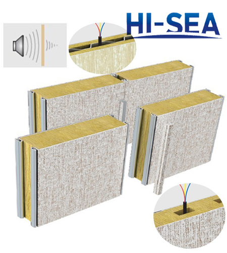 Marine Composite Rock Wool Panel
