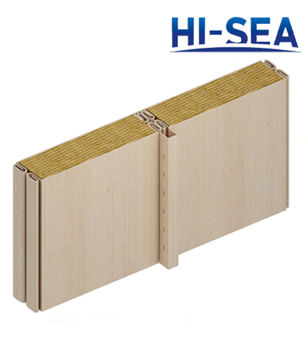 Composite Rock Wool Wall Panel