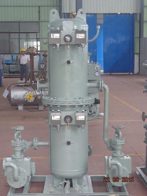 Marine Fresh-water & Sea-water Combined Hydrophore Tank System