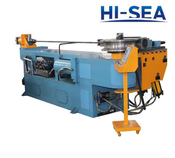 Hydraulic Pipe Bending Machines : Dw nc single head hydraulic pipe bending machine