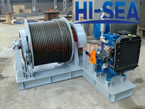Diesel Winch Made in China