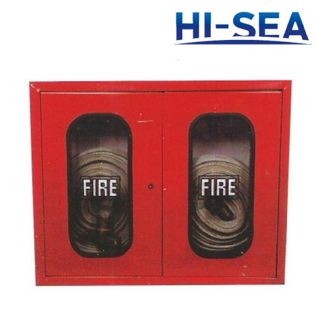 Double-door FRP Fire Hose Box
