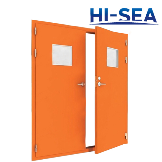 Double-Leaf Fire Door