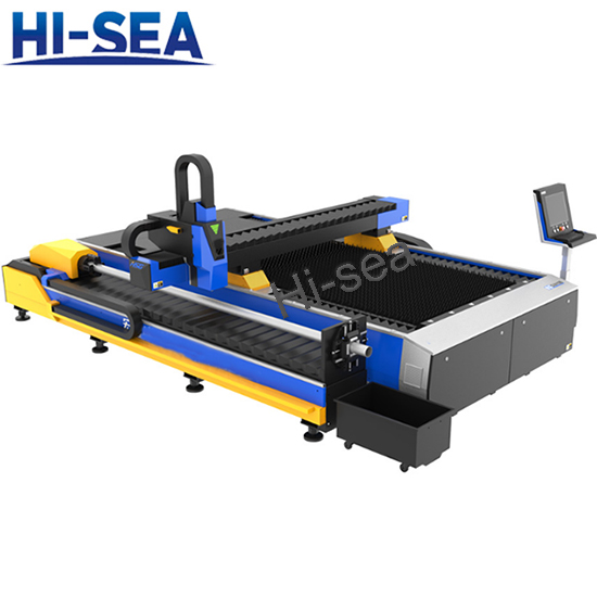 Double drive plate tube integrated laser cutting machine