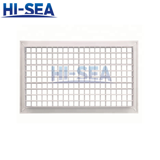 Double grille air outlet