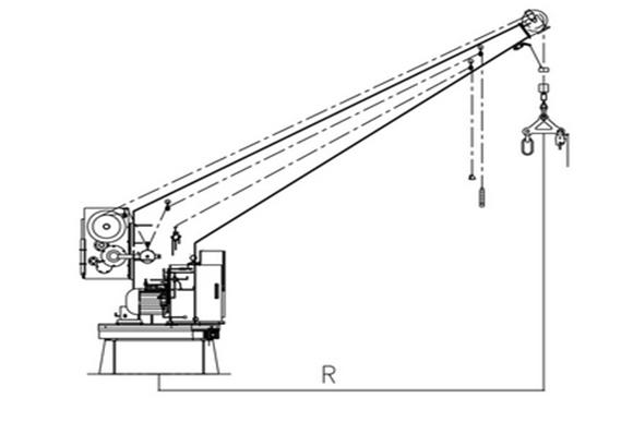 Single Arm Liferaft Launching Appliance