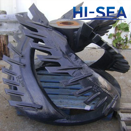 Dredge Cutter Head with Cutting Edges