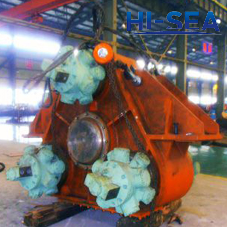 Dredge Cutter Ladder Gearbox