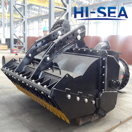 Dredge Heavy Duty Active Drag Head for TSHD Dredger