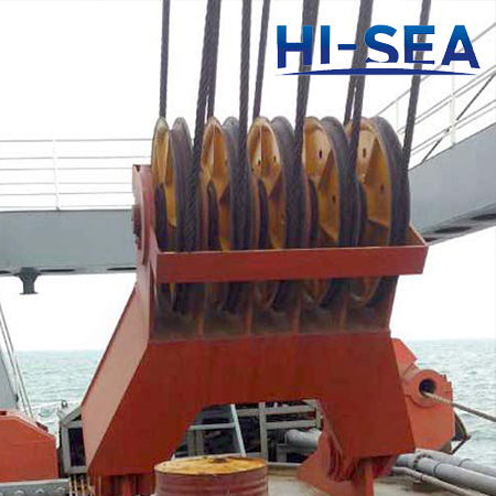 Dredge Pulleys for C.S.D