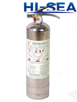 Dry Powder Stainless Steel Fire Extinguisher