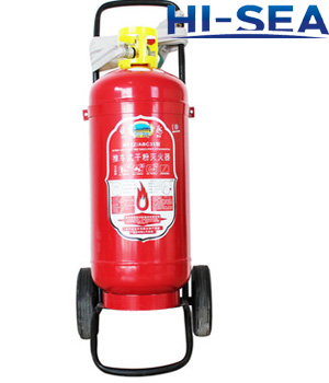 Dry powder wheeled fire extinguisher MFZ25