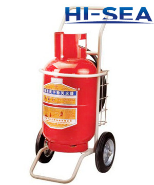 Dry powder wheeled fire extinguisher MFZ50