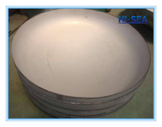 Duplex Stainless Steel Elliptical Head