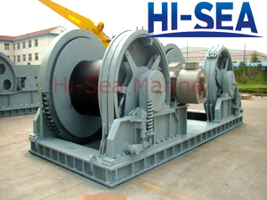 Electric Waterfall Mooring Winches