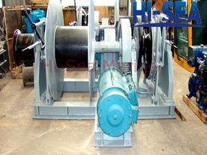 Electric combined Windlass/Mooring Winch