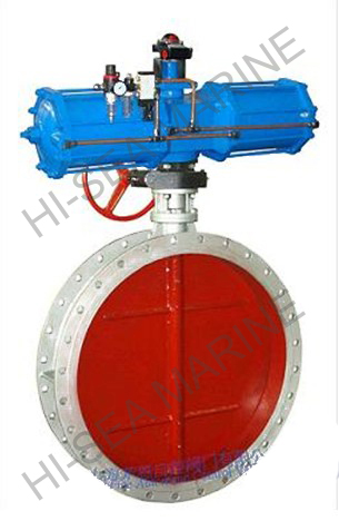 Electric Flue Control Butterfly Valve