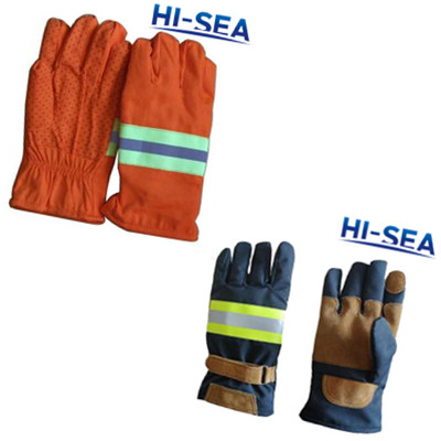 Emergency Rescue Fire Fighting Gloves