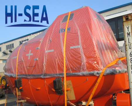 SOLAS 25 Persons 5m Totally Enclosed Life Boat