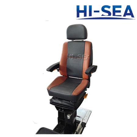 Ergonomic Pilot Chair with Deck Rail