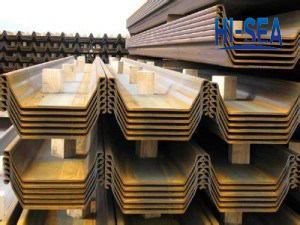 European Standard U Shape Sheet Pile